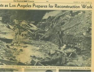 March 1938, Glendale